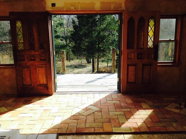 Reclaimed Antique French Terracotta Flooring Tiles